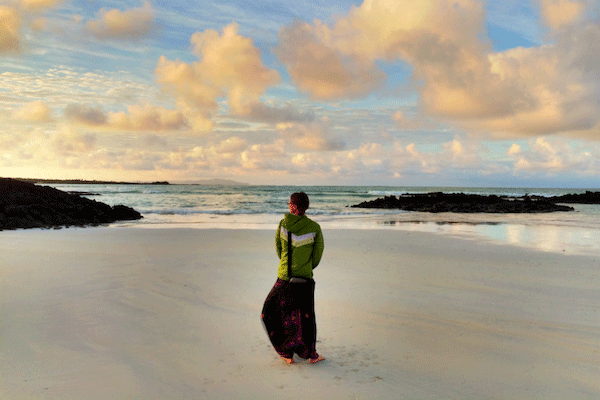 Living the dream in Isla Santa Cruz, Galapagos, Ecuador