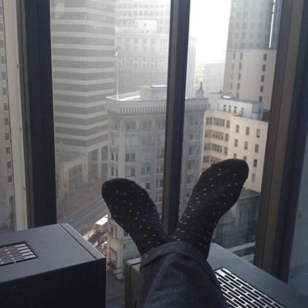 ^ Business socks ^