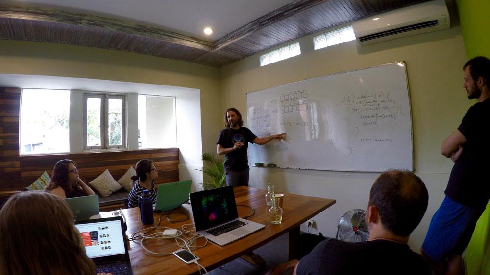 Ryan Desmond, CodingNomads, coding bootcamp, learn to code, digital nomad Bali