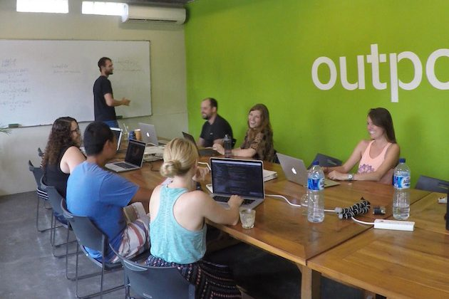 Outpost, CodingNomads, learn to code, coding bootcamp Bali