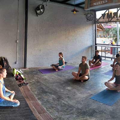 CodingNomads, yoga, Kim Desmond, playa del carmen yoga