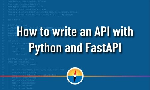 Python FastAPI, Fast API, blog featured image